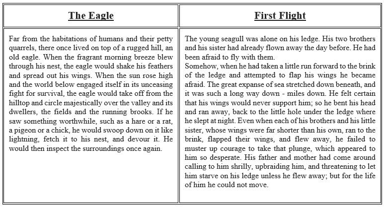 8th Grade ELA Compare and Contrast worksheet on RL.8.5 - Free Lesson ...