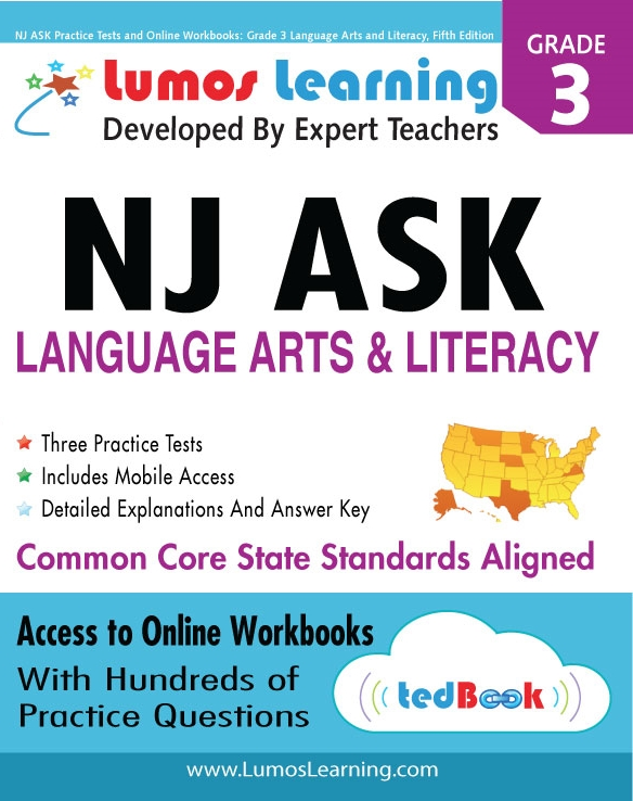 Lumos tedBook™ School Edition: English Language Arts for NJ ASK 2014