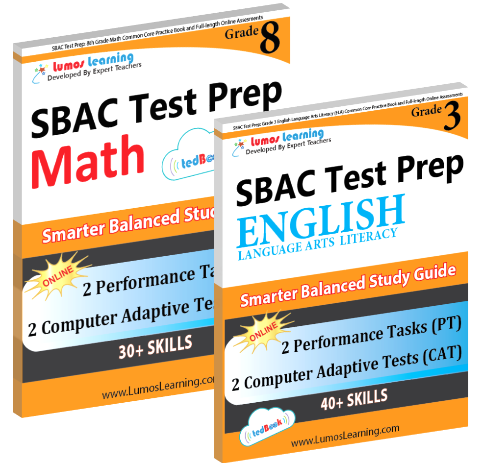 SBAC Workbook and Online Assessments Practice Resource