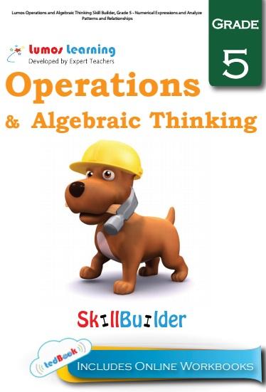 operation and algebric thinking grade 5