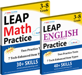 leap practice workbooks
