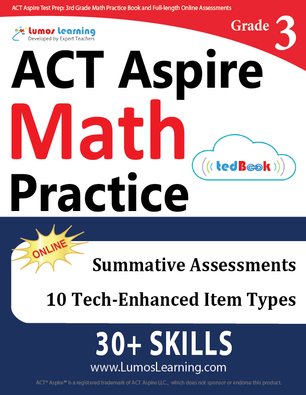 Math and ELA Workbooks for 2017 ACT Aspire Assessments