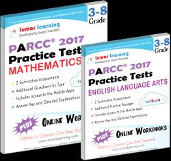 parcc practice test online workbook