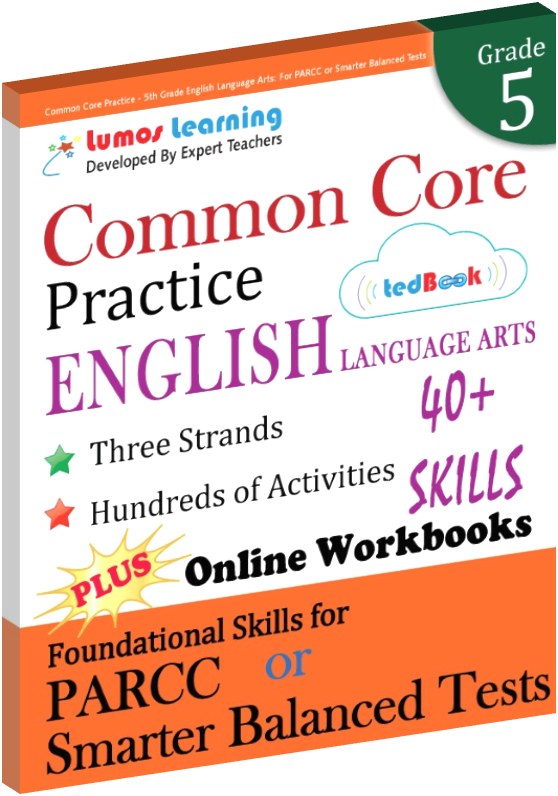 Grade 5 Common Core Practice English Language Arts Practice
