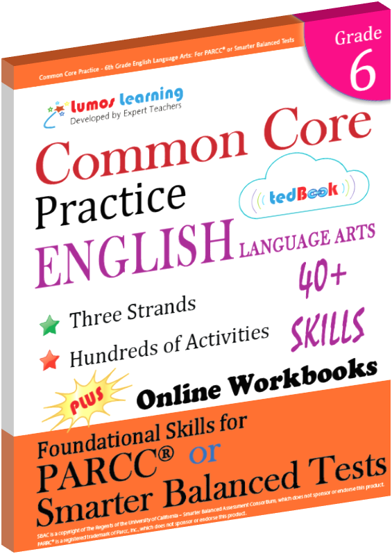 Grade 6 Common Core Practice English Language Arts Practice