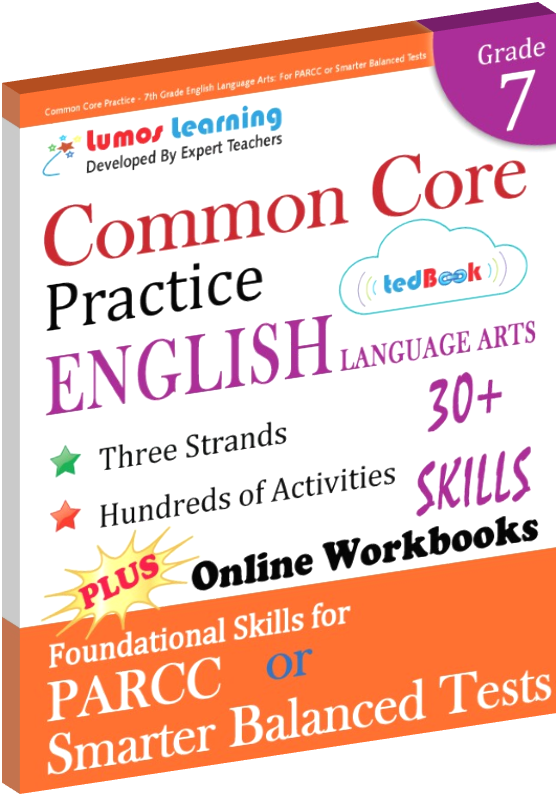 Grade 7 Common Core Practice English Language Arts Practice