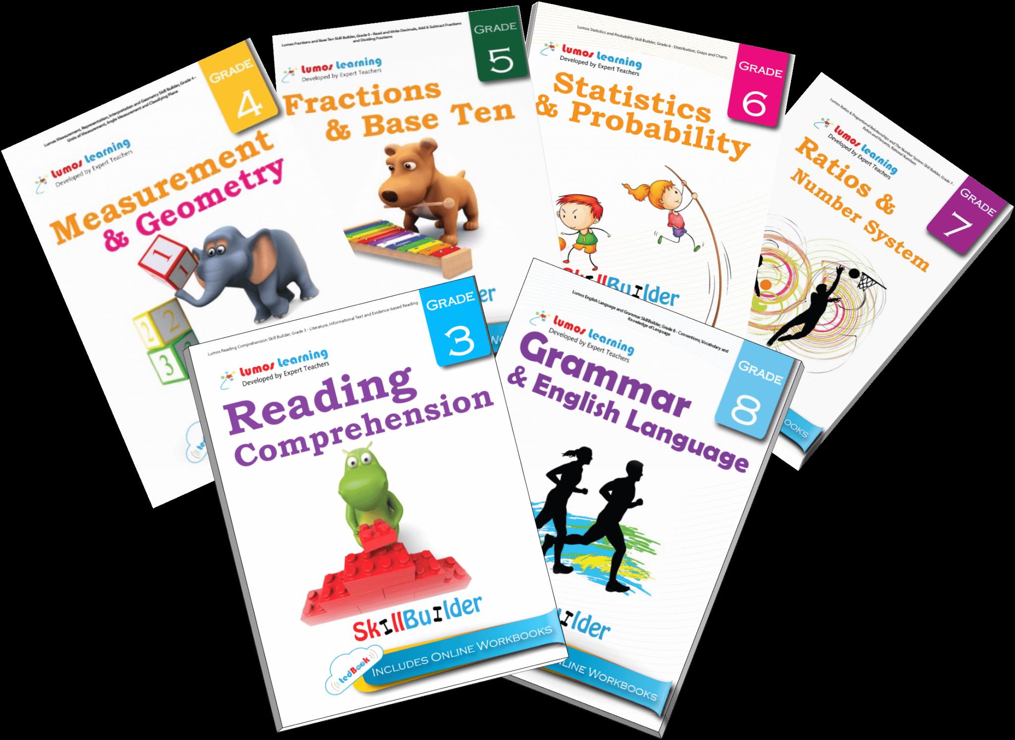 Lumos SkillBuilder™ School Edition for Math and ELA Concepts Practice