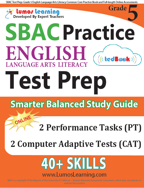 Grade 5 SBAC English Language Arts Practice