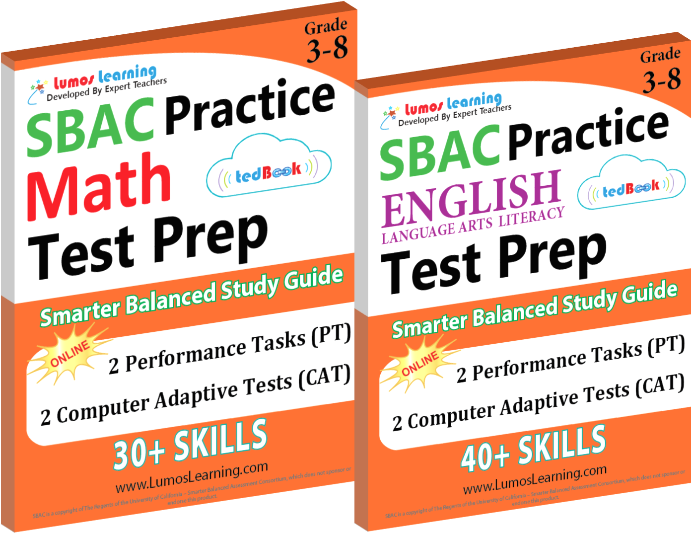 Printed Practice Resource for SBAC Assessments | Lumos LearningLumos  Learning